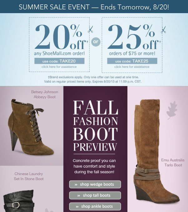 New For Fall - Fashion Boot Preview!