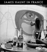 James Haunt in France