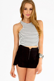 WIDE RULED CROP TOP 18