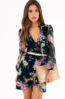 WRAPPED IN PETALS DRESS 33