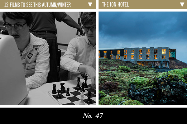 12 Films To see This Autumn/ Winter | The Ion Hotel