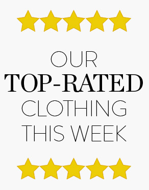 OUR TOP-RATED CLOTHING THIS WEEK