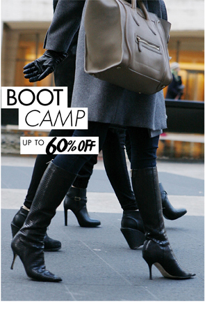 BOOT CAMP UP TO 60% OFF