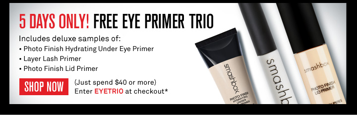 5 Days Only! Free Eye Primer Trio