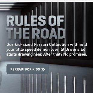 FERRARI FOR KIDS