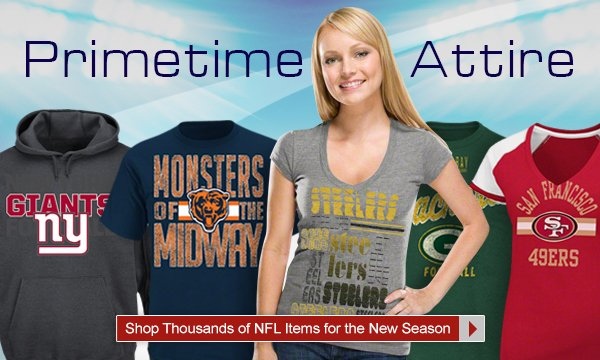 Shop Thousands of NFL Items for the New Season