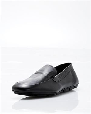 Prada Genuine Leather Loafers- Made in Italy