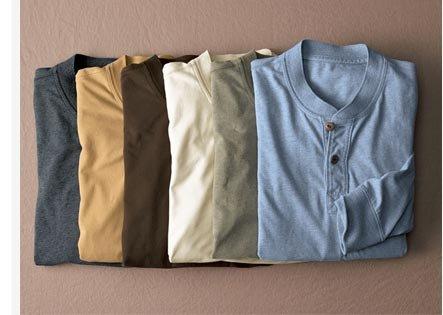 Legend Wash Henley Shirt