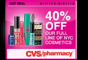 Buy 1 Get 1 50% off Offer exclusive to CVS