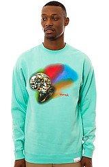 The Reflection Crewneck Sweatshirt in Diamond Blue