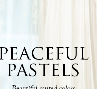 Peaceful pastels