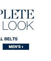 MEN'S BELTS >