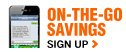 On-The-Go-Savings  Sign Up