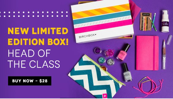 Limited Edition Birchbox