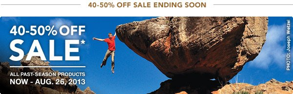Up to 50% off Sale Ending Soon