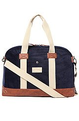 The Laptop Duffle Bag in Navy Cord