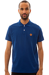 The Solid Keep Watch Polo in Navy