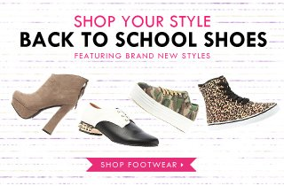 Back To School Shoes