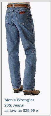 Wrangler 20X Jeans