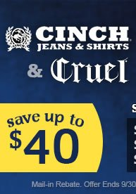 Cinch Rebate