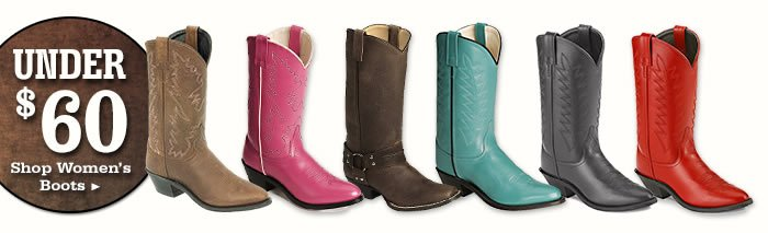 Womens Boots Under 60