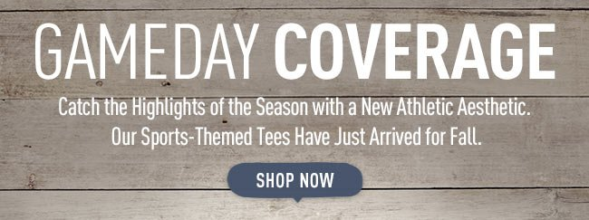 Gameday Coverage - Shop the Fall Football Collection