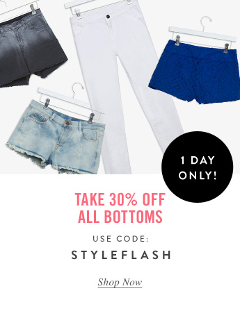 30% Off All Bottoms