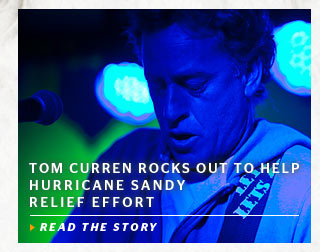 Tom Curren Rocks Out To Help Hurricane Sandy Relief Effort