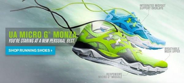 UA MICRO G® MONZA - SHOP RUNNING SHOES
