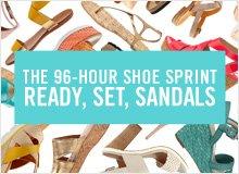 The 96-Hour Shoe Sprint