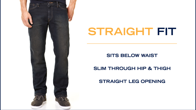 Shop Straight Fit