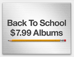 Back To School: $7.99 Albums