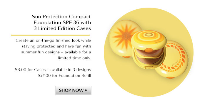 Sun Protection Compact Foundation SPF 36 with 3 limited edition cases
