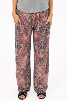 LIVE IN LOUNGE PAISLEY PANTS 36
