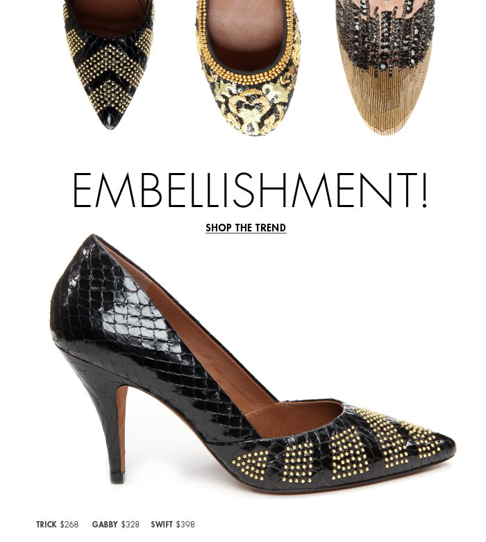 Shop Embellishment Trend