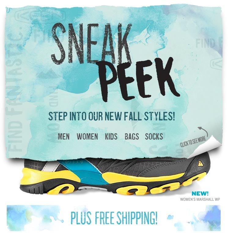 Sneak Peek at New Fall Styles!