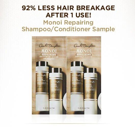 Monoi Repairing Shampoo / Conditioner Sample