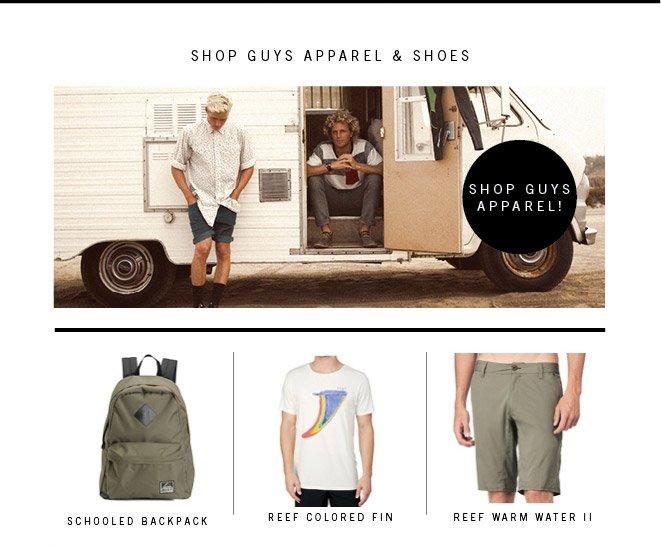 Shop Guys Apparel