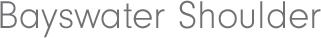 BAYSWATER SHOULDER