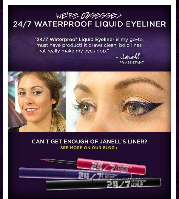 We're Obsessed: 24/7 Waterproof Liquid Eyeliner - See More On Our Blog >