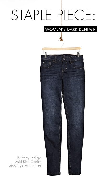 Shop Women's Dark Denim