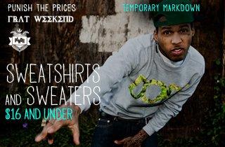 Sweatshirts & Sweaters $16 & Under