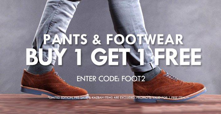 Pants & Footwear
