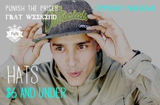 Hats $6 & Under