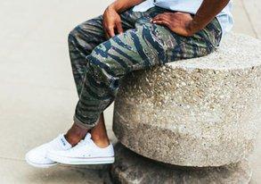 Shop Standout Pants ft. Camo & Color Pops