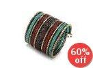 Color-Block Beaded Bracelet