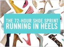 The 72-Hour Shoe Sprint