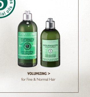 Volumizing for Fine & Normal Hair