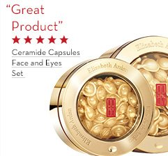 """Great Product"" Ceramide Capsules Face and Eyes Set."