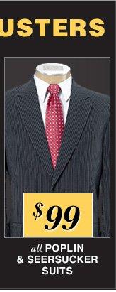 $99 USD - Popin & Seersucker Suits